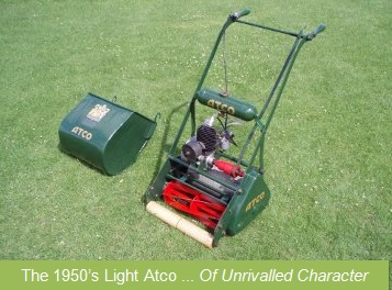 old atco lawn mowers for sale