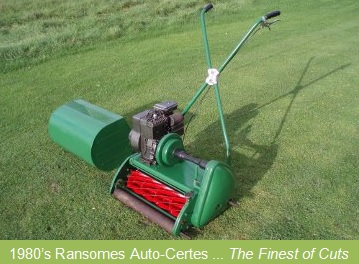 Old fashioned push mower for sale 73